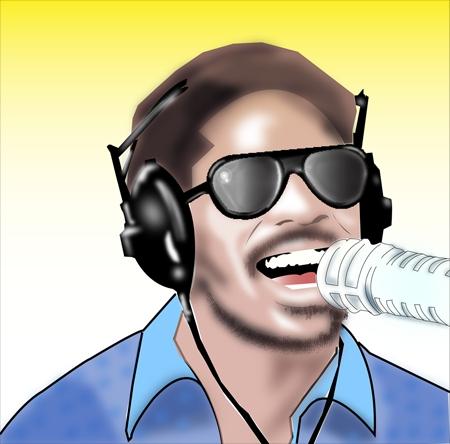 Stevie Wonder by jackkass